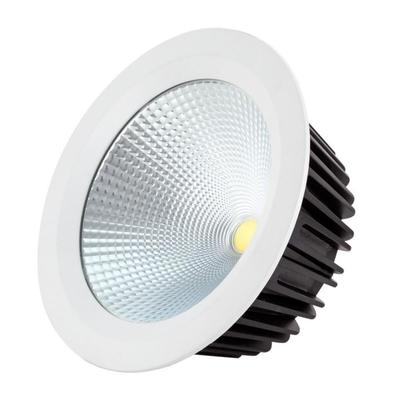Downlight LED alta potencia 60w 6500k Blanco 4800lm 22,5x22,5x10