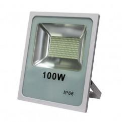 Proyector LED 100w 6500k 7900lm 120º Blanco 30x35x6,5